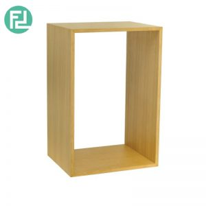 HUGH 600x400 Cube Shelf In Oak Colour