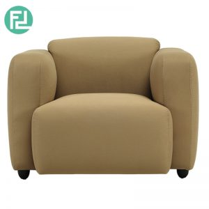 POLO 1 seater contemporary fabric sofa