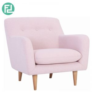 SPORTAGE 1 seater fabric sofa- Pink