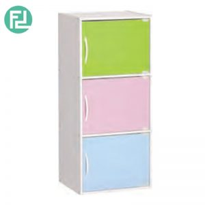 BOCA 3 doors kids storage cabinet