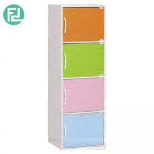 BOCA 4 doors kids storage cabinet