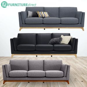 CENI 3 SEATER SOFA- 3 colors