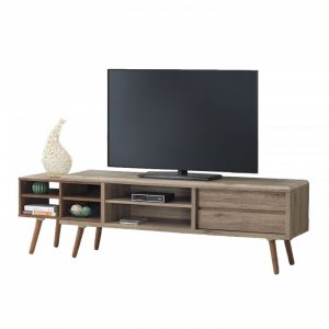 ODORA 5ft TV cabinet-oak