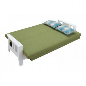 RACHEL solid wood sofa bed-green