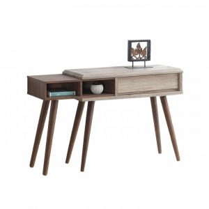ODORA 4ft console table-oak/brown