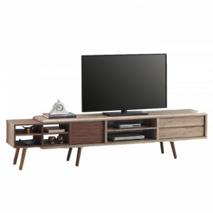 ODORA 7ft TV Cabinet-oak