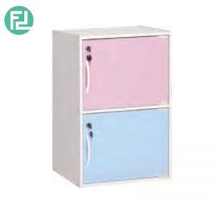 CODEY kids 2 door storage cabinet with lock