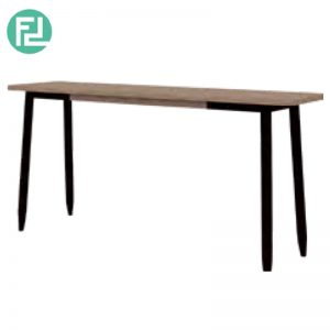 BINDER 4.5 feet solid acacia wood console table