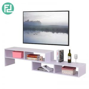 FLEXIA extendable TV cabinet-white