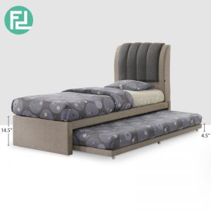 FULHAM single size pull out bed with trundle-custom made