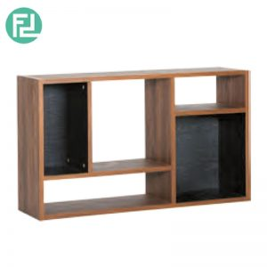 Kewanee book shelf bookcase-walnut