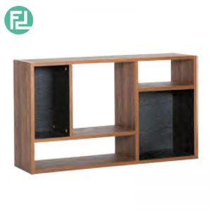 Kewanee book shelf bookcase-walnut