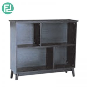 HOWELL low bookcase- black