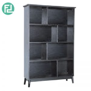 HOWELL high bookcase- black