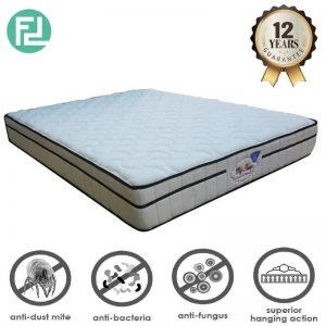 "MASTERCOIL Mycomfort 10"" x 5' queen size spring mattress"