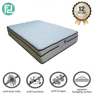 "MASTERCOIL Mycomfort 10"" x 3.5' super single size spring mattress"