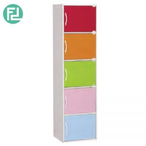 BOCA 5 doors kids storage cabinet