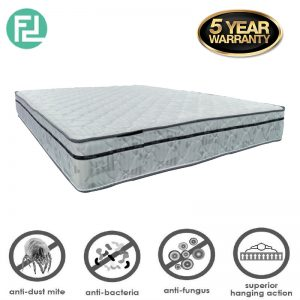 "MASTERFOAM Sleepy 10"" x 5' queen size rebond foam mattress"
