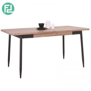 BINDER 2.0M Dining Table In Taupe Colour Top