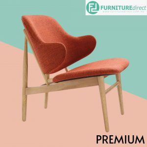 Veronic designer lounge chair in 4 colors