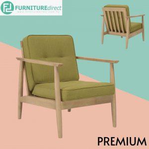 ENTEX Single Seater Wooden Sofa