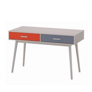HANINA 4ft study desk with 2 drawers