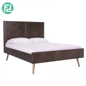 SELSEY Solid Acacia Wood King Size Bedframe (Imported from Vietnam)