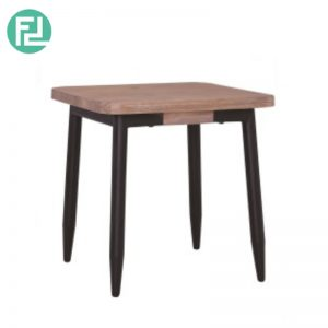BINDER solid acacia wood side table-taupe