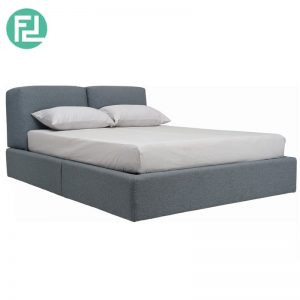 DAMIT premium fabric king size bedframe