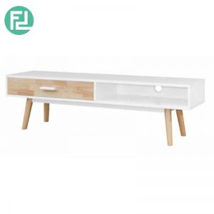 NCWO 6ft TV Cabinet - Full Solid Rubber Wood