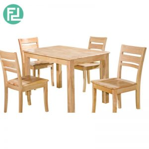 LARIAT 2.5′ x 4′ Dining Set (1+4) - 4  DINING CHAIR