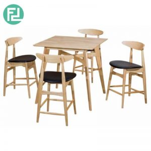 NANCY Dining Set (1-4) - NANCY Bar Table 'H36' - NANCY Bar Chair 'H24'