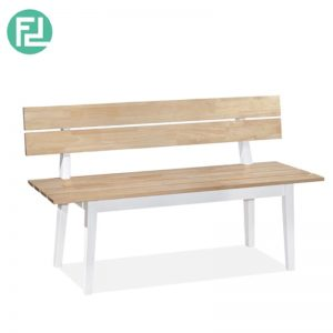 SOLIDWOOD (120cm) Bench - WITH BACKREST