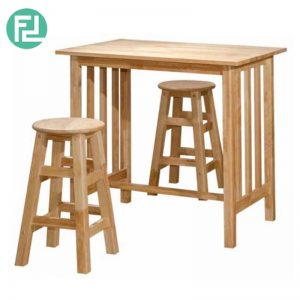 PELTO  Breakfast Set (1+2 - Solid Wood