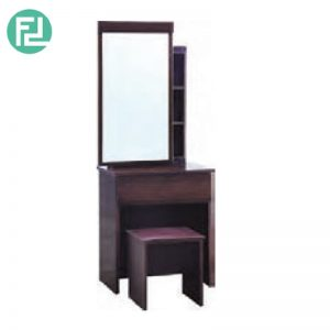THORN dressing table with stool - LIGHT CAPPUCCINO
