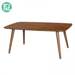ULLAM Coffee Table - Solid Wood - With Natural & Walnut Colour