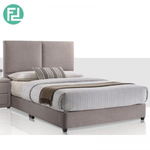 ALEGRO Bed Set 6'x8' - Solid Wood and SOLID WOOD LEG