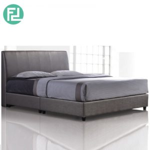 CHARTER Bed Set 6'x8' -Solid Wood and Plastic Leg
