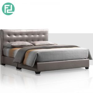 EXOTC Bed Set 6'x8' -Solid Wood and Plastic Leg