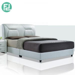 "BOLOGNA 6'x8"" fabric bed frame"