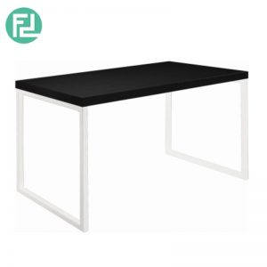 BRENT 1.2M Metal Leg Dining Table