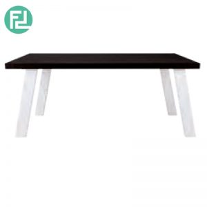 BRENT 1800mm slant leg dining table