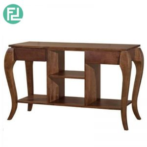 LINER 4ft solid wood console table- 4 colors