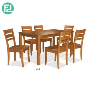 LARIAT 3′ x 5′ Dining Set (1+6) - 6 DINING CHAIR