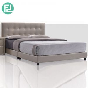 EXOTC R Bed Set 5'x6' -Solid Wood and Plastic Leg