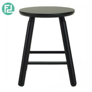OLGA stool in Black colour