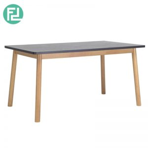 DAGEL 1.5meter solid wood dining table