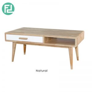 NCWO Coffee Table 41″ x 22″ - Solid Wood