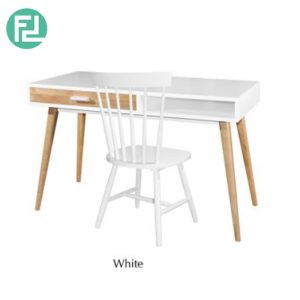 NCWO Writing Table With Twiggy Chair - Solid Wood