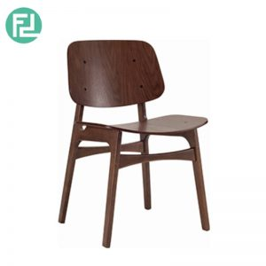 MARTHA wooden leg dining chair